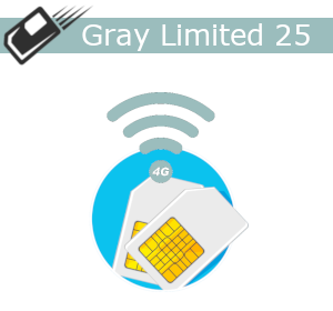 Gray Limited 25GB